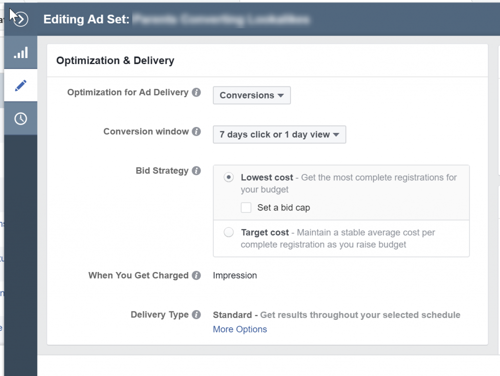 Facebook Delivery Attribution Window on the Ad Set Level