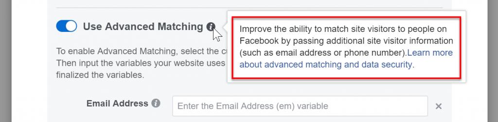 Facebook pixel using Google Tag Manager