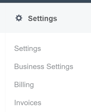 Facebook Ads Manager - Settings