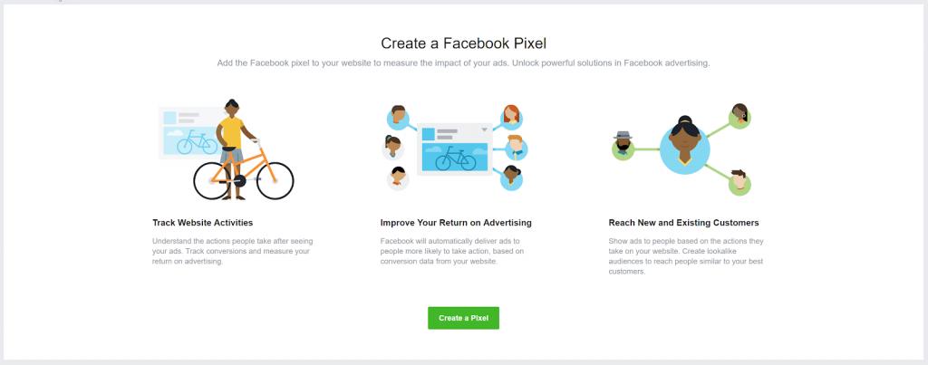 Facebook Ads Manager - Pixel