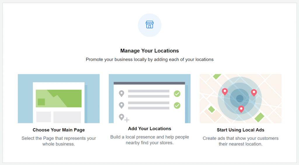 Facebook Ads Manager - Business Location