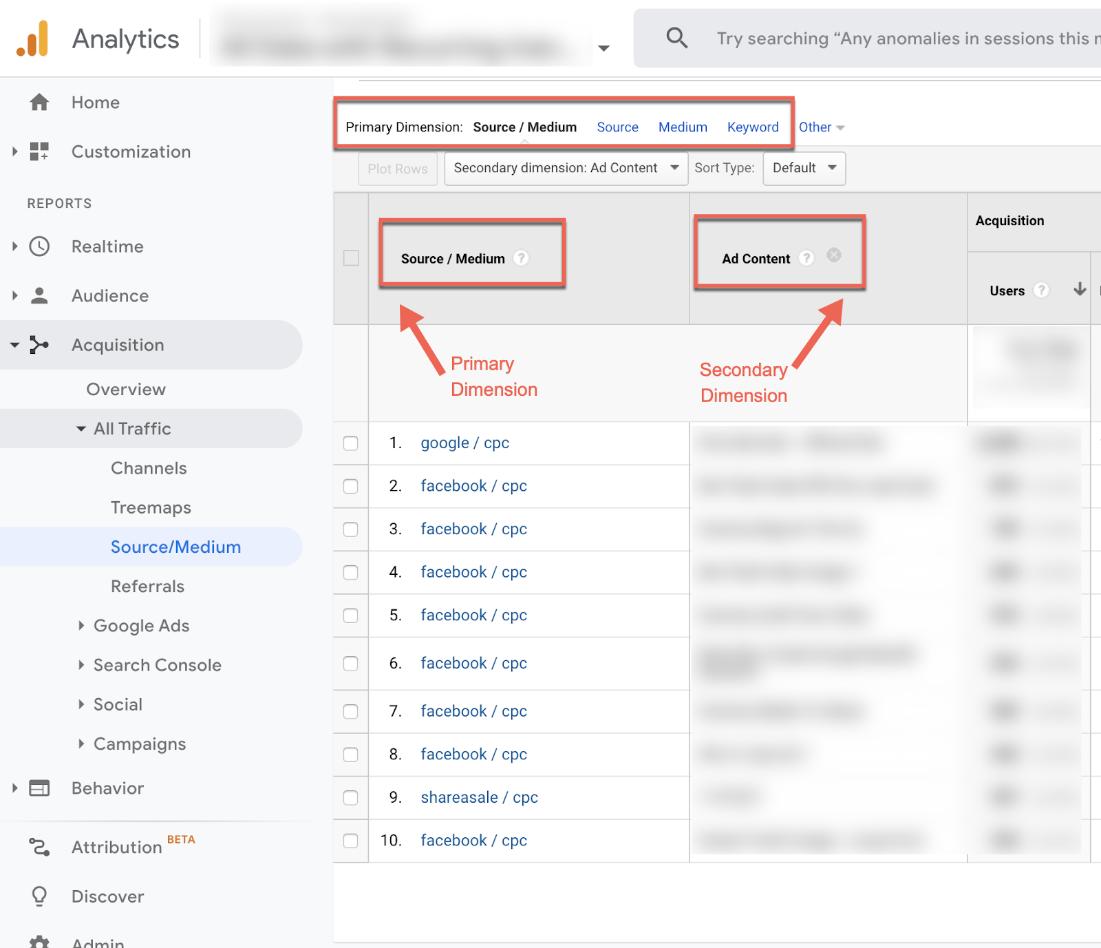 tracking custom campaigns in google analytics