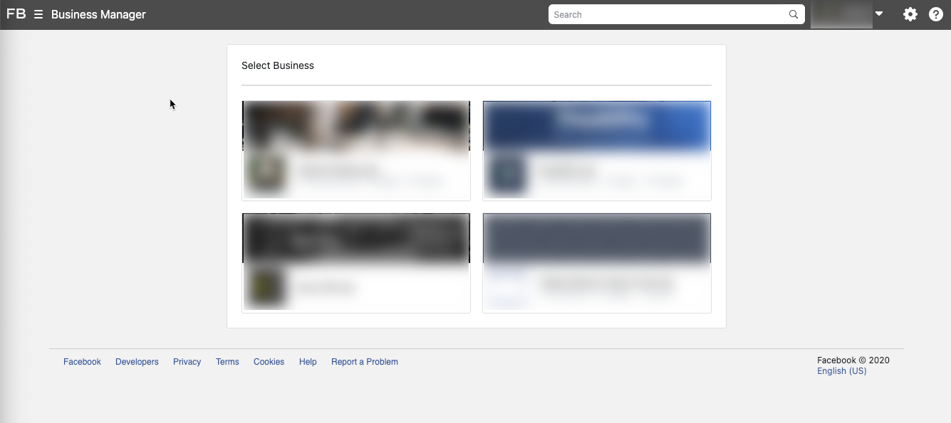 access facebook business manager